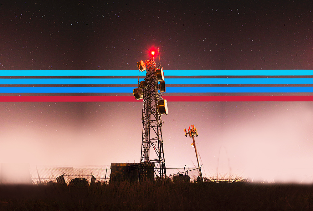 Cell-radio-tower - NATC - North American Tower Corporation